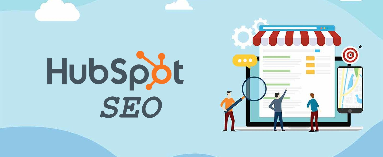 Improve and analyse your content with HubSpot SEO tools. 4